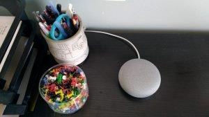 브라이언의 행복한 번역가 블로그 통번역가의 라이프스타일과 일상  Google Home Mini 가지고 놀기
