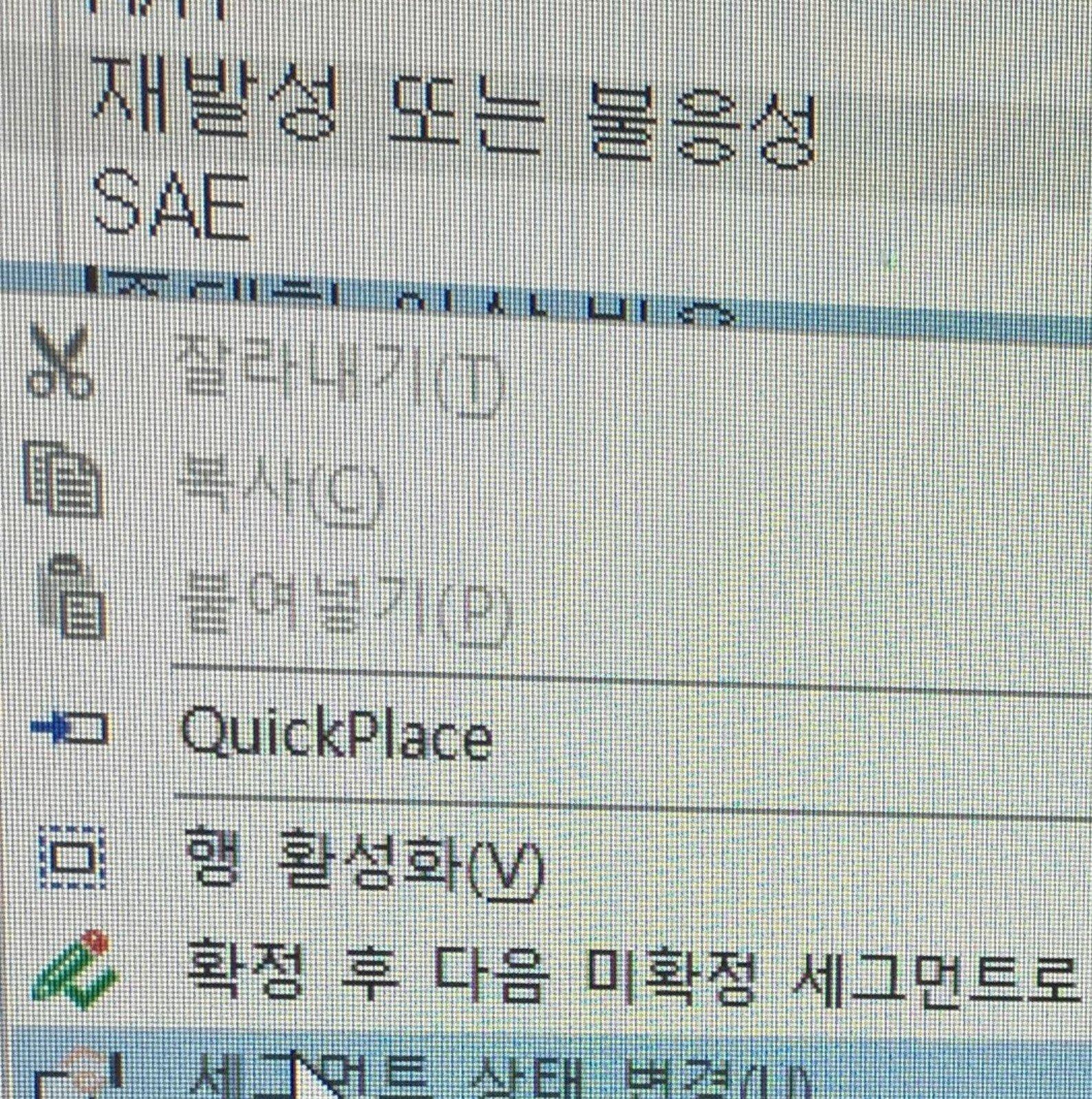 Trados Studio 번역가 H의 컴퓨터를 부수기 전에  Trados Studio에서 번역 메모리가 나타나지 않을 때 대처하는 방법